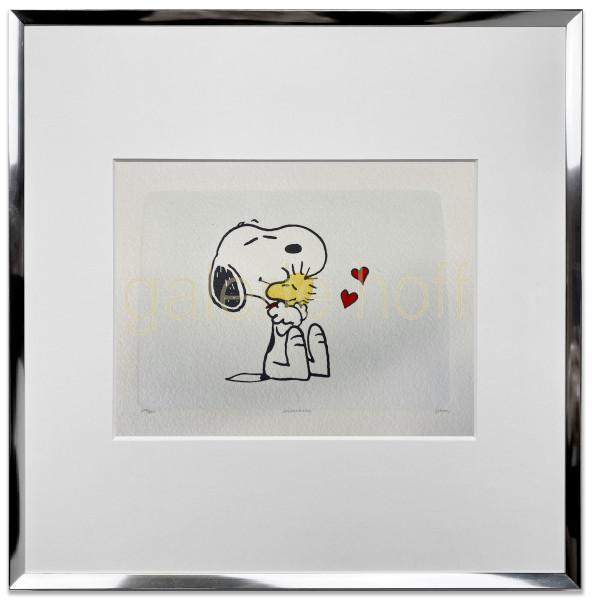 Schulz, Charles M. / Peanuts - Biggest Hug - gerahmt