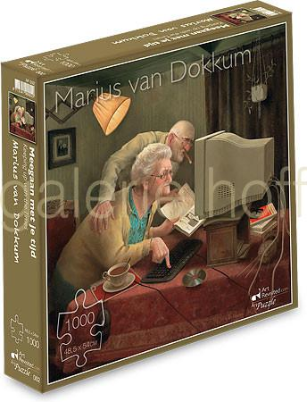 van Dokkum, Marius - Keeping up with the times - Puzzle