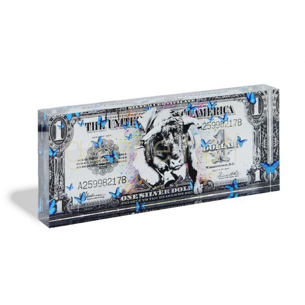 Miles, Devin - One Dollar silver - Acrylblock