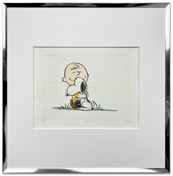 Schulz, Charles M. / Peanuts - Best Friends - gerahmt