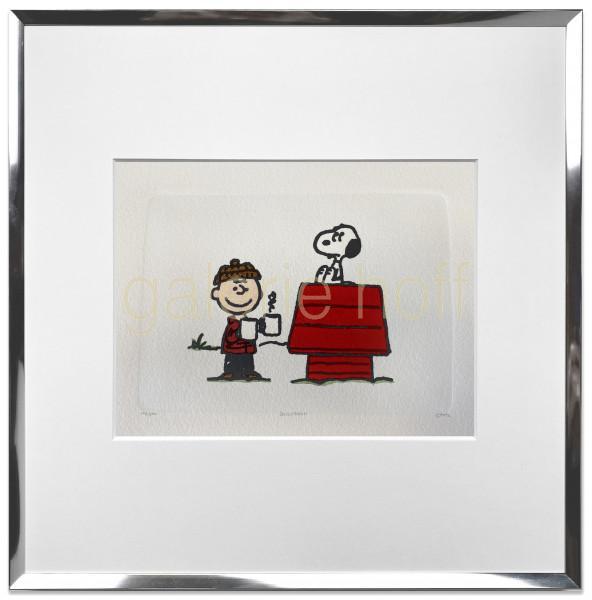 Schulz, Charles M. / Peanuts - Hot Cocoa - gerahmt