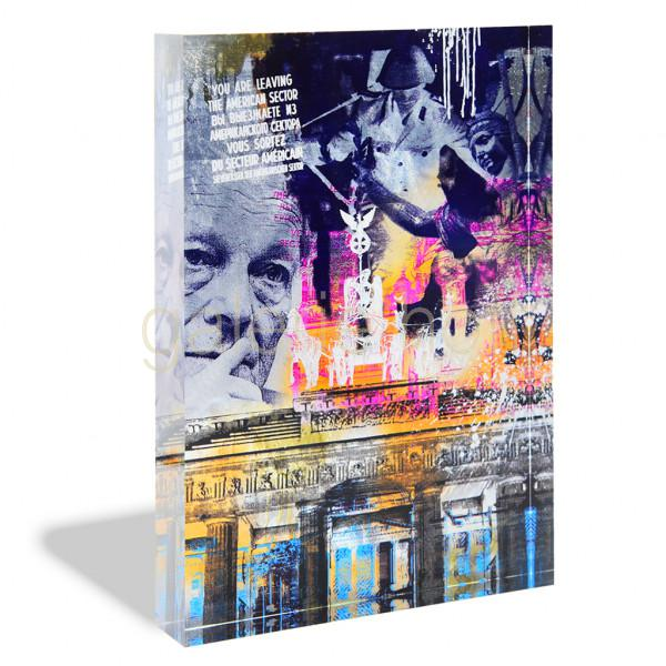 Miles, Devin - Berlin - Acrylblock